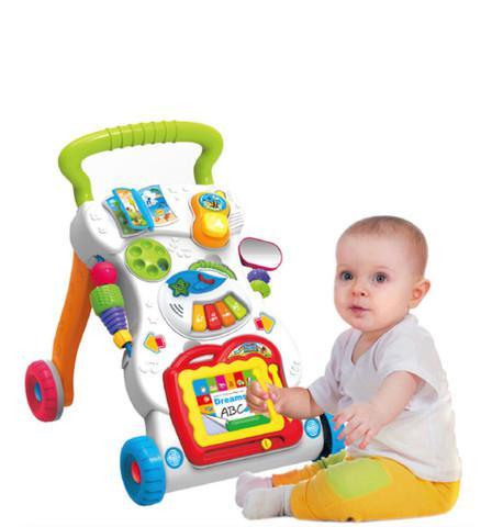 Andador infantil andajar de bebê de empurrar