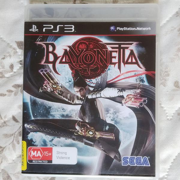 Bayonetta ps3 - mídia física