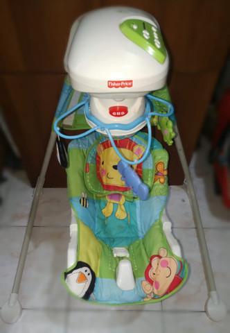 Cadeira de bebê fisher price