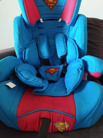 Cadeirinha para criança super man