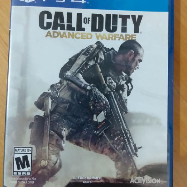 Call of duty advanced warfare ps4 activision mídia física