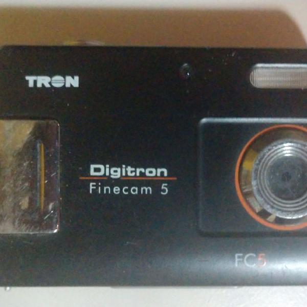 Camera digital digitron finecam 5 - leia o anuncio