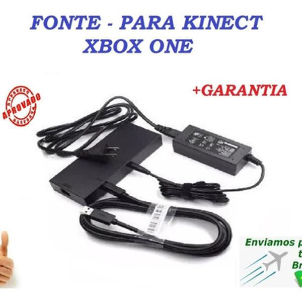 Fonte adaptador kinect xbox one x one s windows 10