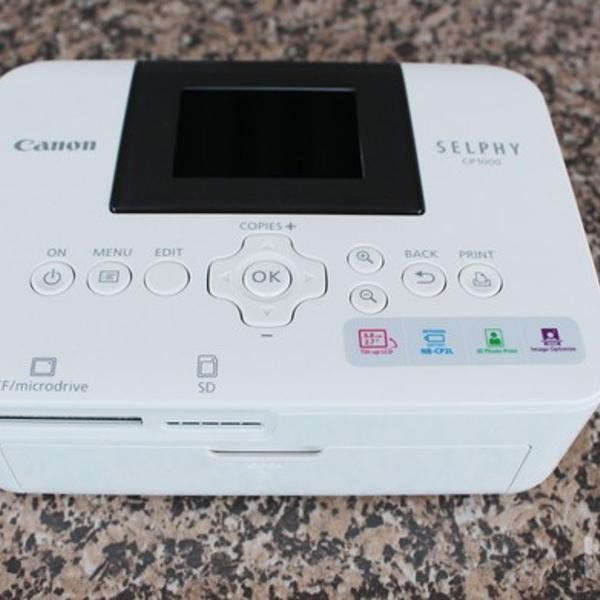 Impressora de fotos canon selphy cp1000