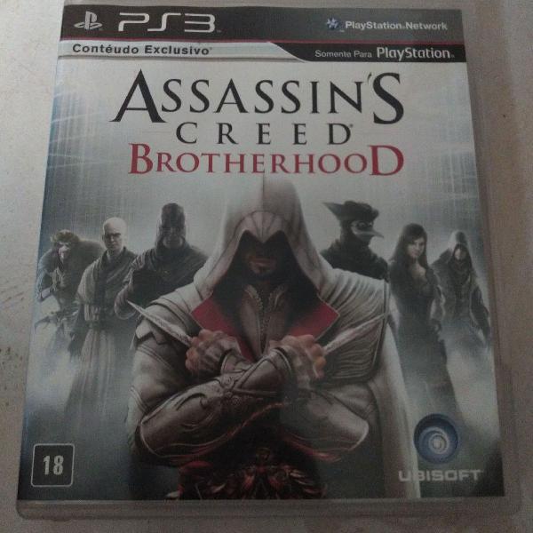 Jogo assassin's creed brotherhood