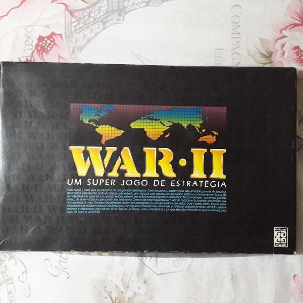 Jogo raro e antigo war 2 caixa preta