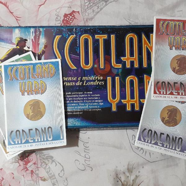 Jogo antigo e raro scotland yard