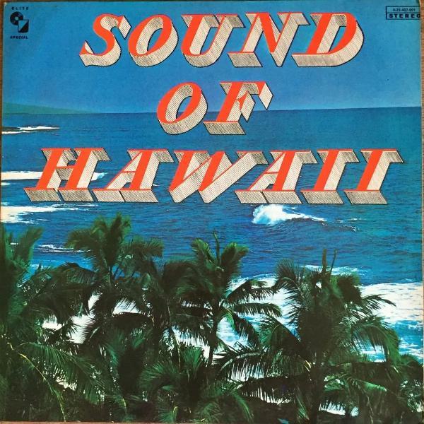 Lp disco vinil - sound of hawaii - 1976