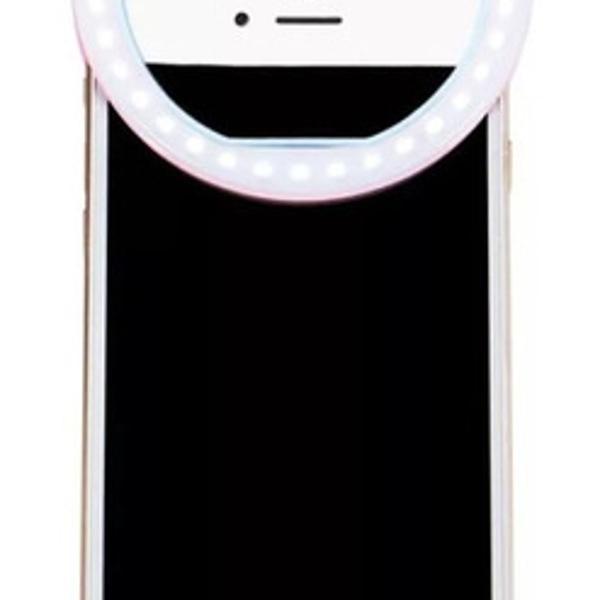 Luz Selfie Led Ring Light Haiz Clipe Flash Celular Universal