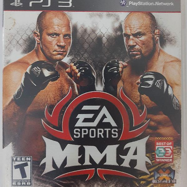 Mma ea sports ps3