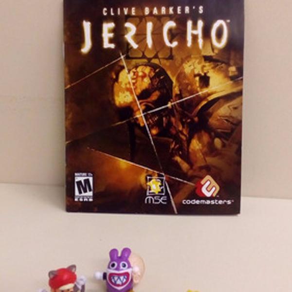 Manual clive barker's jericho - play3 ps3 ps 3 playstation 3