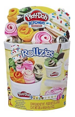 Massinha play-doh fábrica de sorvete e8055 - hasbro