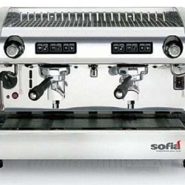 Máquina de café expresso + moinho digital