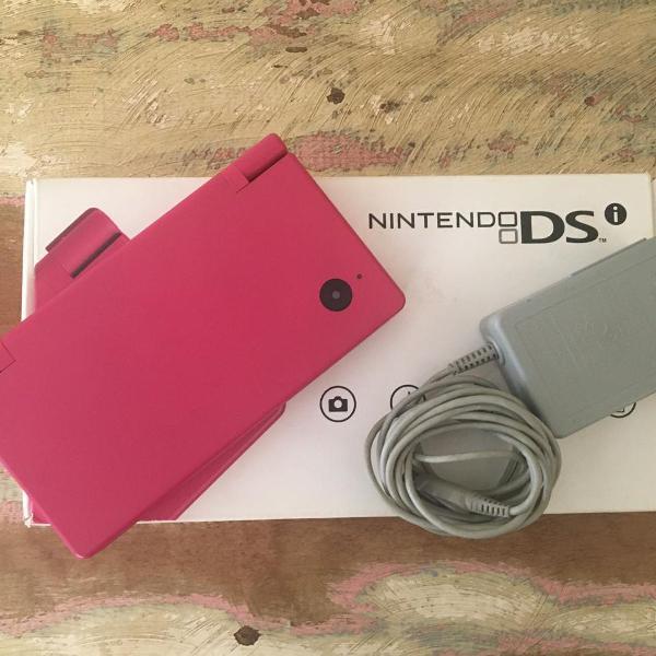 Nintendo dsi pink seminovo