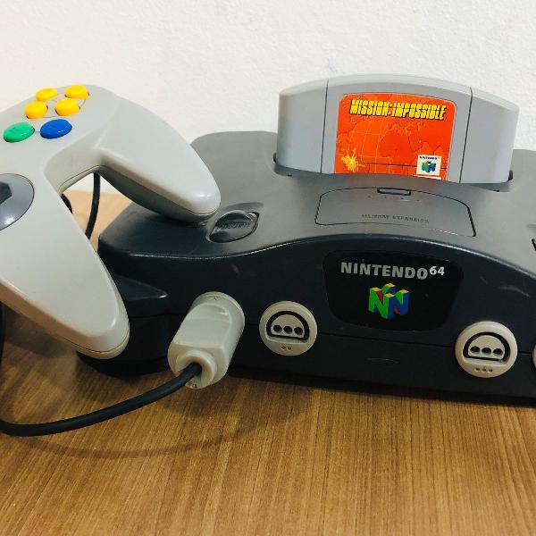 Nintendo 64 completo + missao impossivel