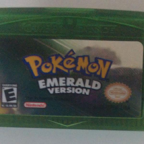 Pokémon emerald version gba nds nintendo