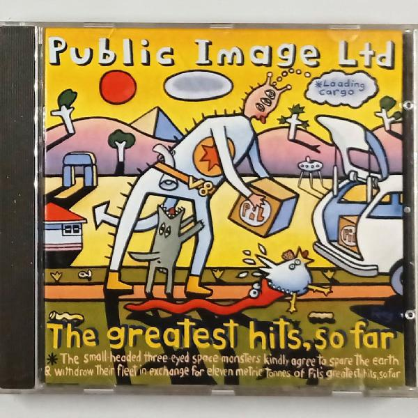 Public image ltd the greatest hits, so far . virgin 1990 .