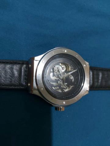 Relógio automático masculino chilli beans dragão preto