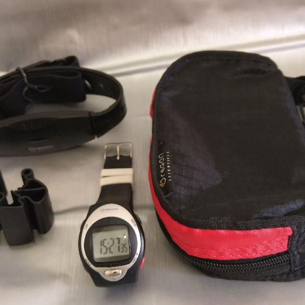 Relógio oregon com medição da frequência cardíaca