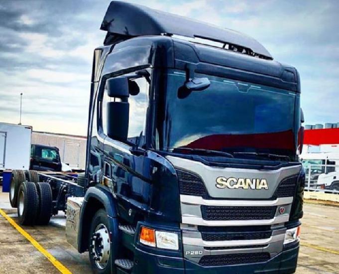 Scania p280 -bitruck 8x2 e trucada 6x2 - 202021