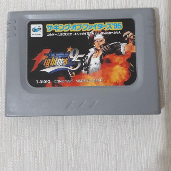 Sega saturn king of fighters 95 original