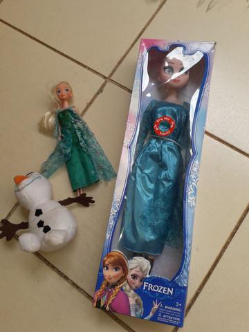 Tudo por 50 - bonecas elsa frozen