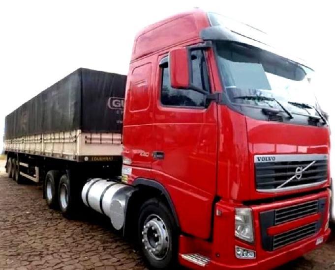 Volvo fh 440 6x2 globetrotter ano 11 + graneleira 11
