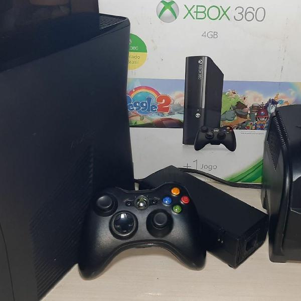 Xbox 360 slim desbloqueado ( completo )