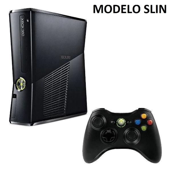 Xbox 360 slim destravado ltu 3.0 conservado