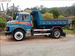 Caminhão mb 1313 ano 1980 direçao turbo caçamba