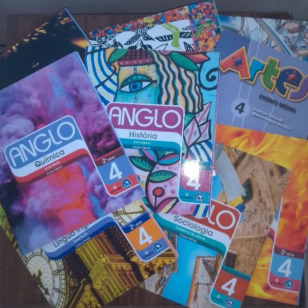 Coleção anglo de livros 2ª série livros-texto