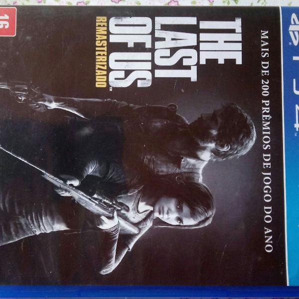 Jogo ps 4, the last of us