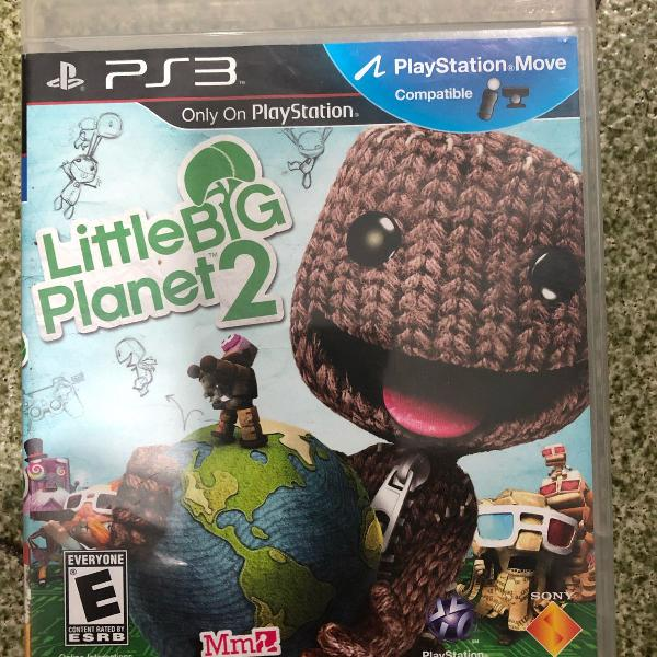 Jogo playstation ps3 little bit planet 2