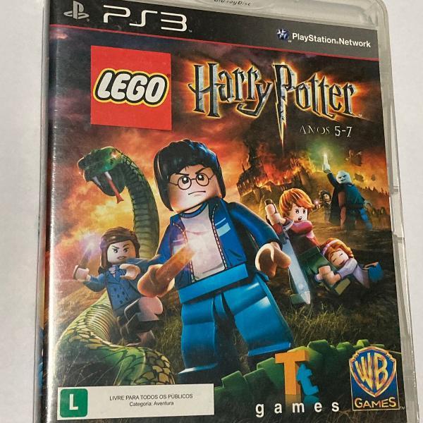 Lego harry potter anos 5-7 ps3