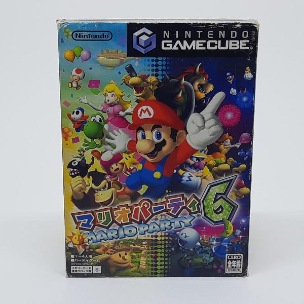 Mario party 6 | gamecube | game cube