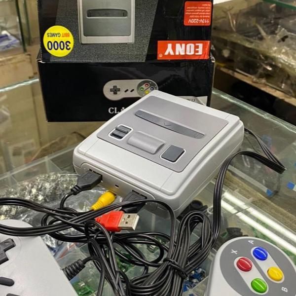 Mini game 3000 jogos retrô
