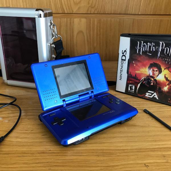 Nintendo ds + jogo harry potter + case
