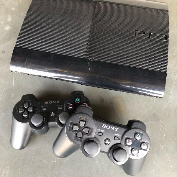 Playstation 3 com jogos