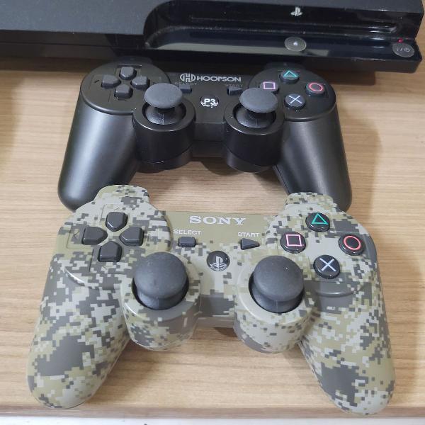 Ps3, controles e jogos