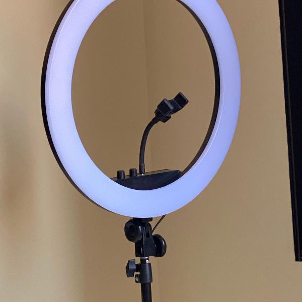 Ring light led +tripé 2,10
