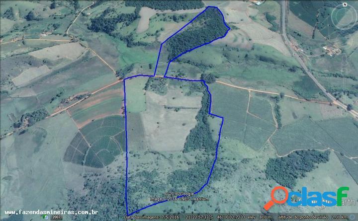 Fazenda para venda em areado / mg no bairro zona rural