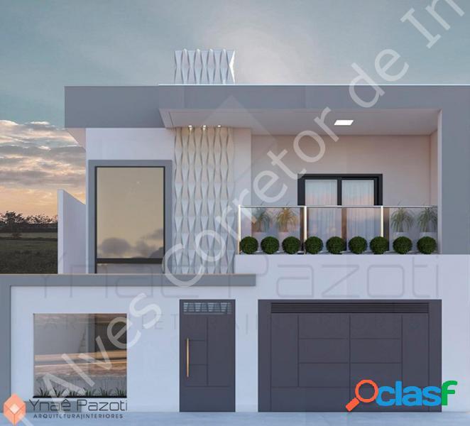 Casa com 3 dorms em varginha - santa luzia por 550.000,00 à venda