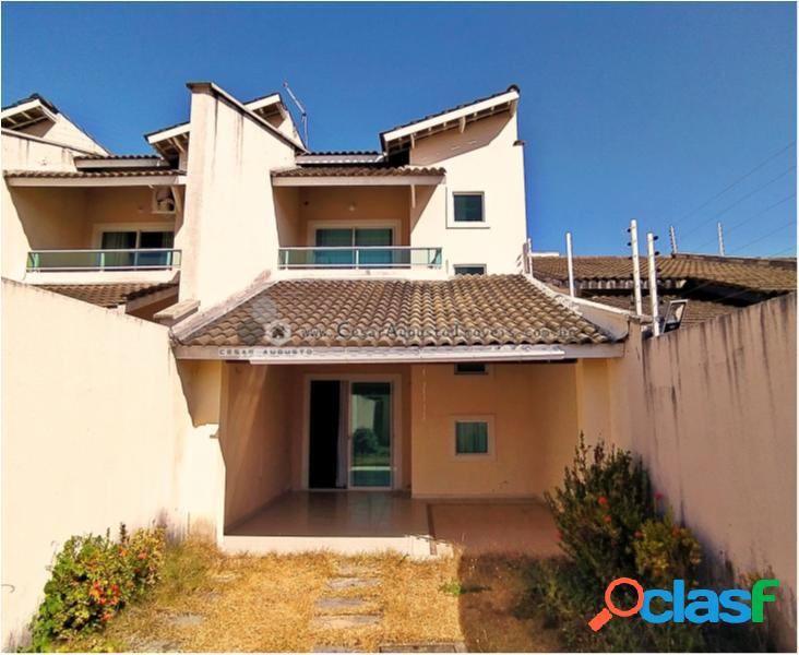 Casa duplex - casa com 3 dorms em fortaleza - lagoa redonda por 295.000,00 à venda