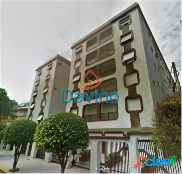 Apartamento com 2 dorms em santos - campo grande por 390 mil à venda