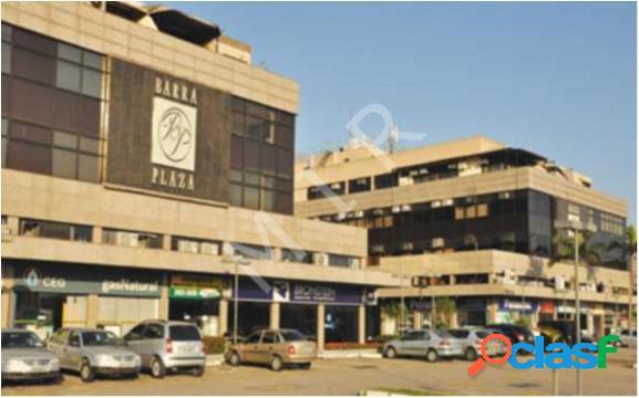 Barra plaza - sala comercial com 60 m2 em rio de janeiro - barra da tijuca por 1.400,00 para alugar