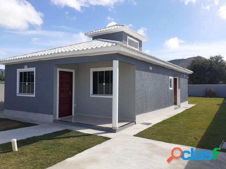 Casa com 3 dorms em maricá - jardim atlântico oeste (itaipuaçu) por 438 mil à venda