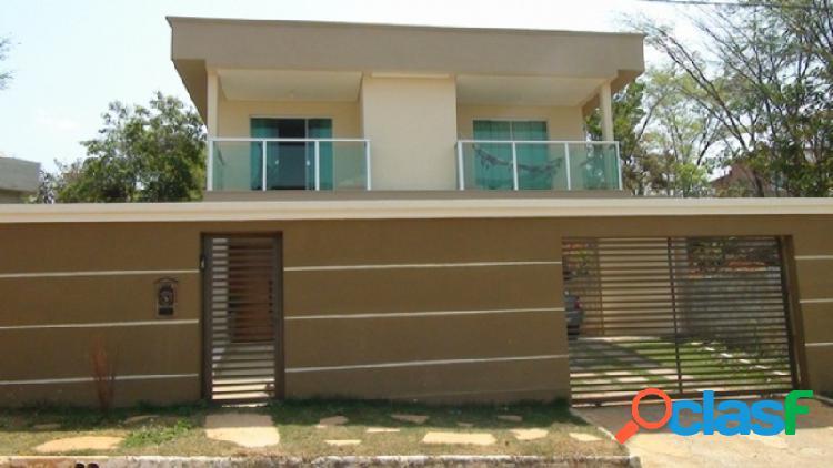 Casa em condomínio fechado - venda - lagoa santa - mg - condominio village do gramado