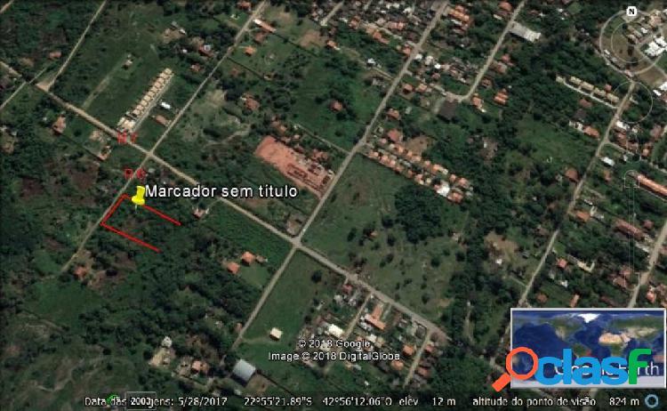 Área de terreno - venda - marica - rj - sao jose de imbassai