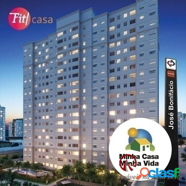 Apartamento 1 e 2 dorms - josé bonifácio - itaquera
