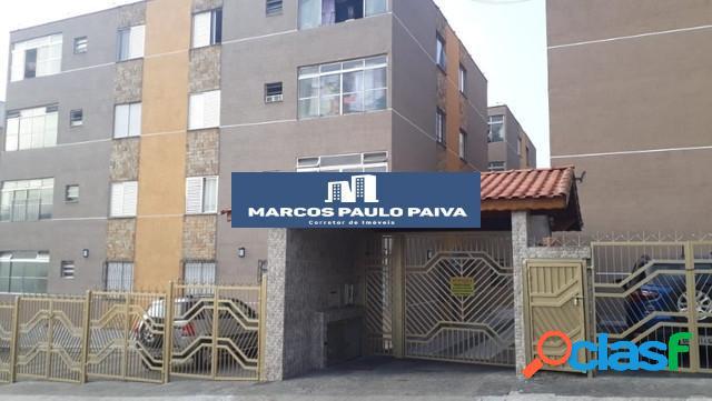 Apartamento em guarulhos no planalto i com 64 m² 1 dorm 1 vaga jd cocaia
